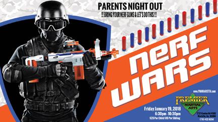 Nerf Wars January 13 2018