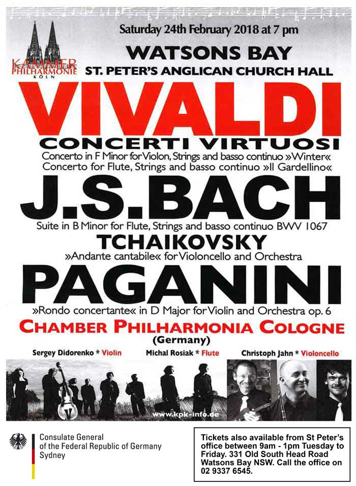 German Concert Bach