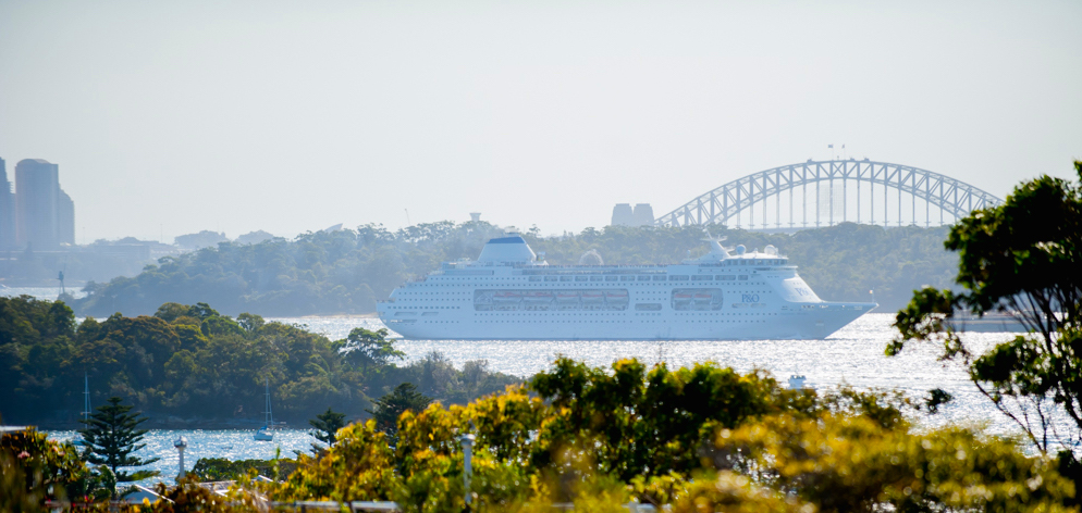 View over Sydney Harbour