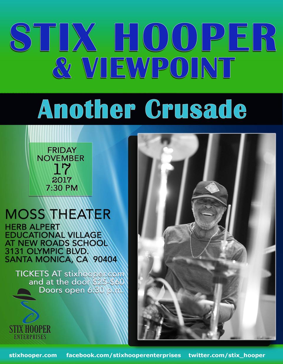Stix Hooper Another Crusade 11-17-2017