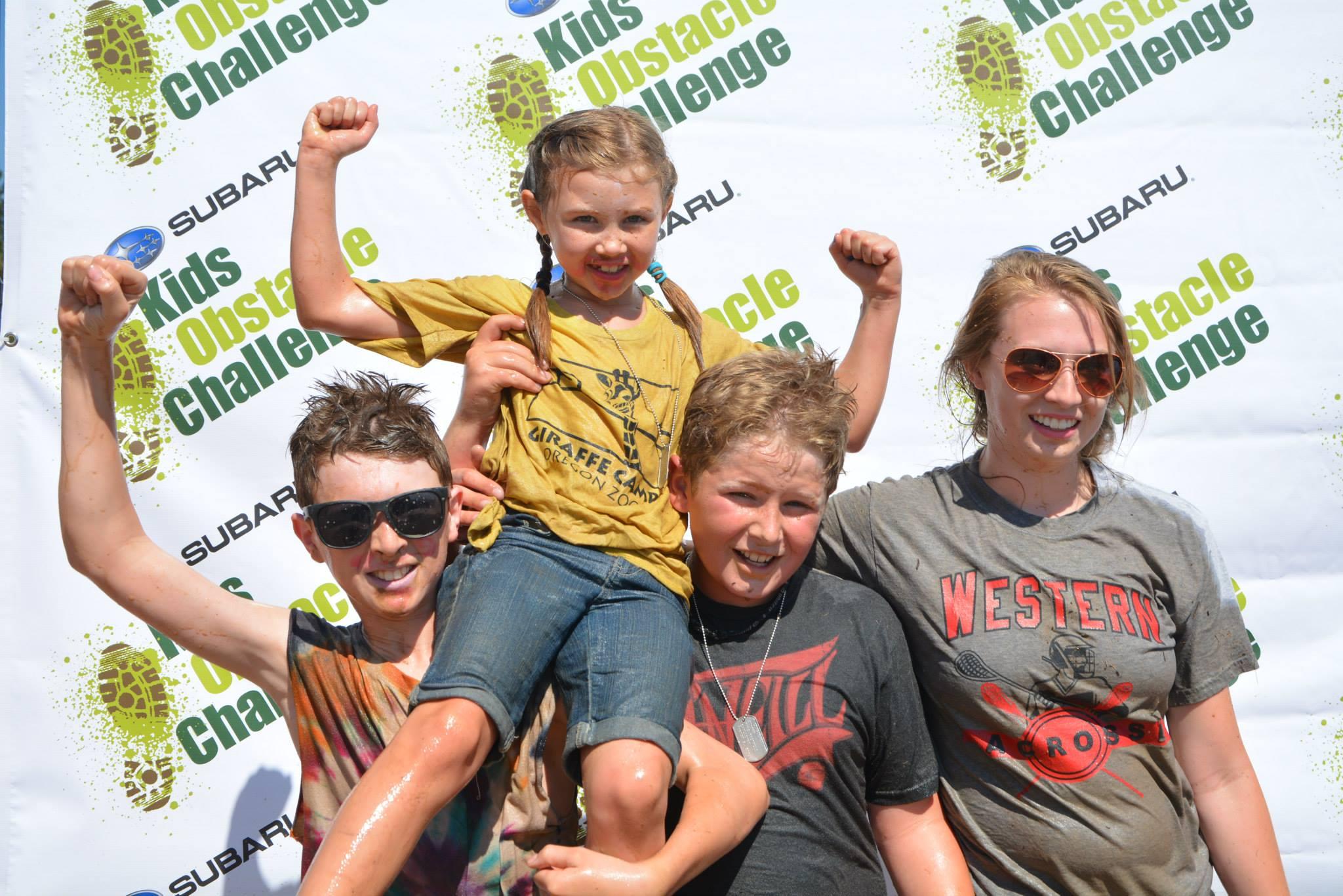 Strong Siblings Subaru Kids Obstacle Challenge
