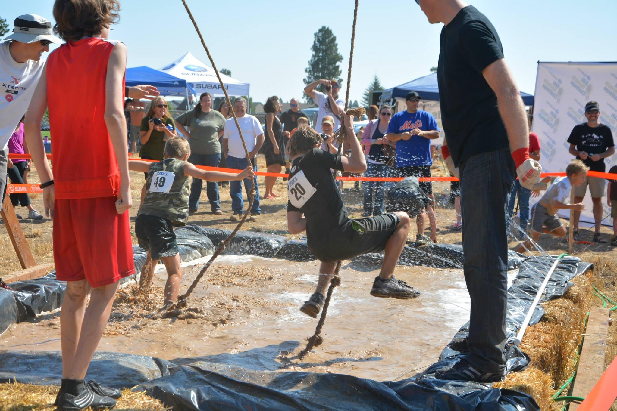 Rope Swing Subaru Kids Obstacle Challenge