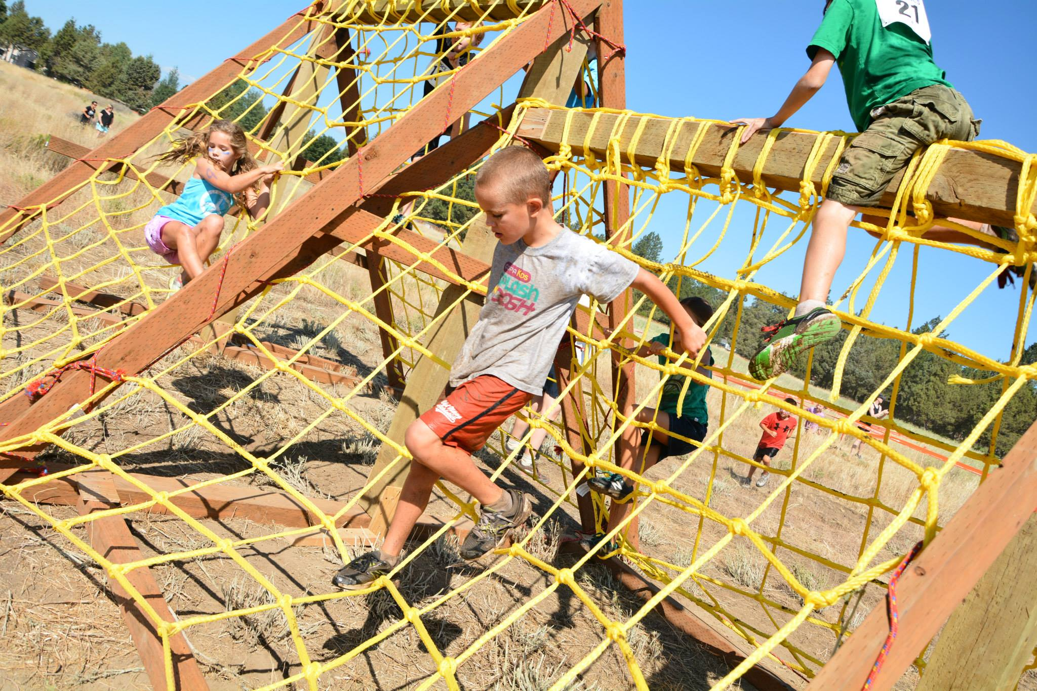 Cargo Climbers Subaru Kids Obstacle Challenge