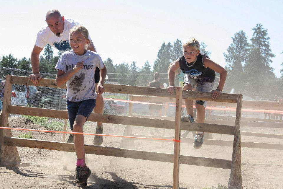 Hurdles Subaru Kids Obstacle Challenge