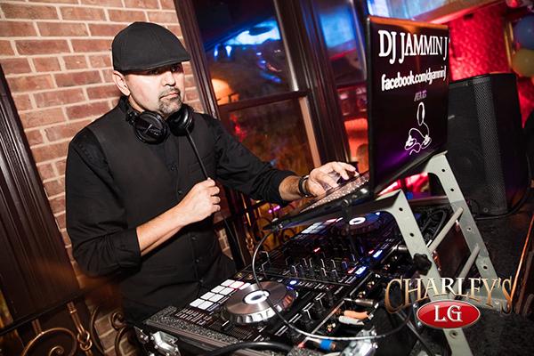 DJ Jammin J of Ndamixx Spinning at Charley's LG