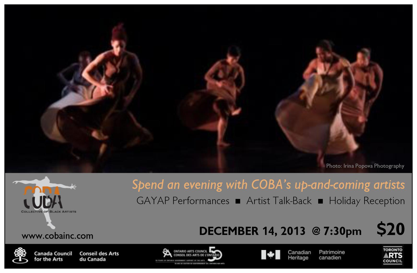 GAYAP performances Dec 14, 2013