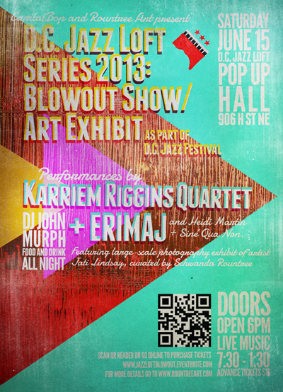 DC Jazz Loft Series Blowout flyer