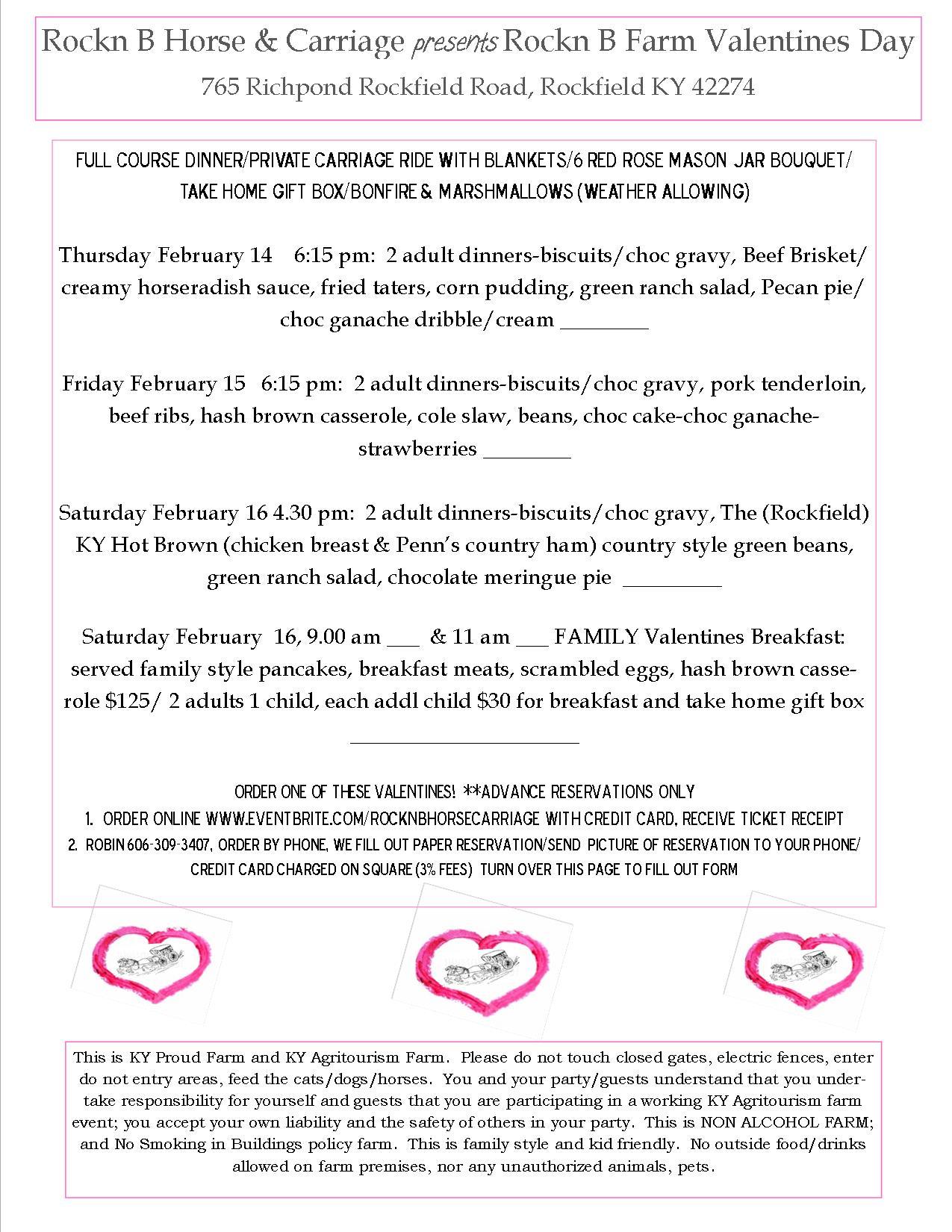 2019 Valentines info
