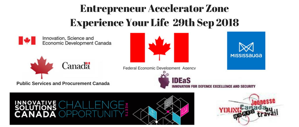 Entrepreneur Accelerator Zone 2018 at Experience Your Life Expo