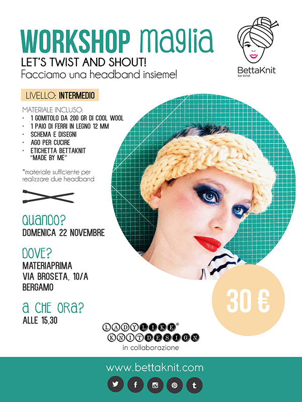 Workshop Maglia - Facciamo una headband insieme!