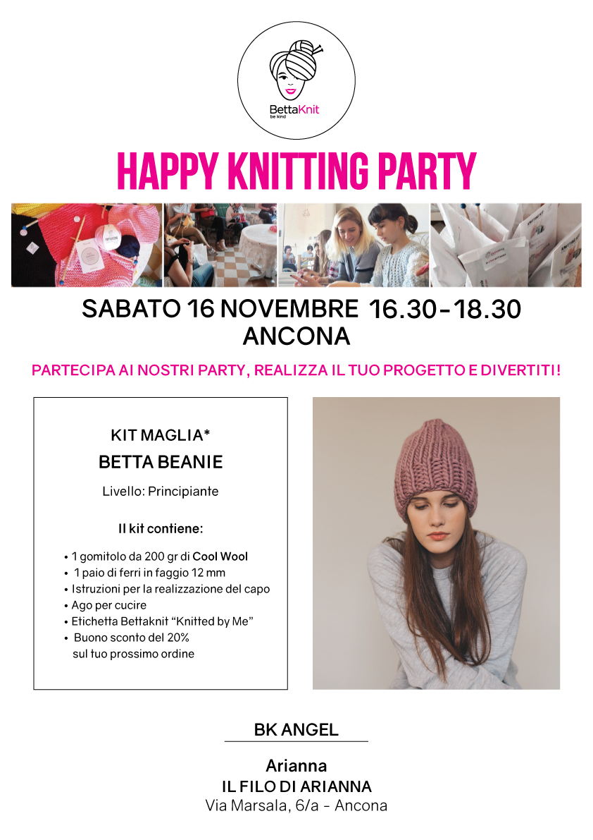 knitting party Ancona
