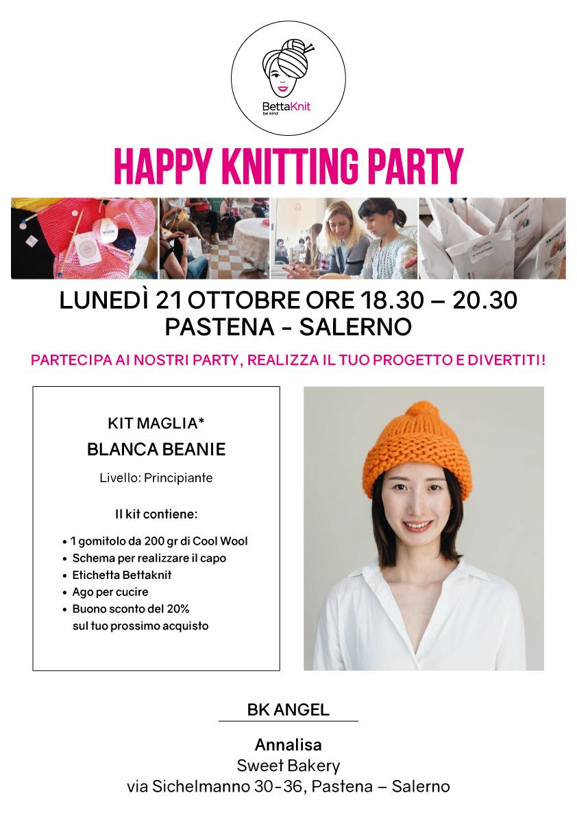 knitting party salerno
