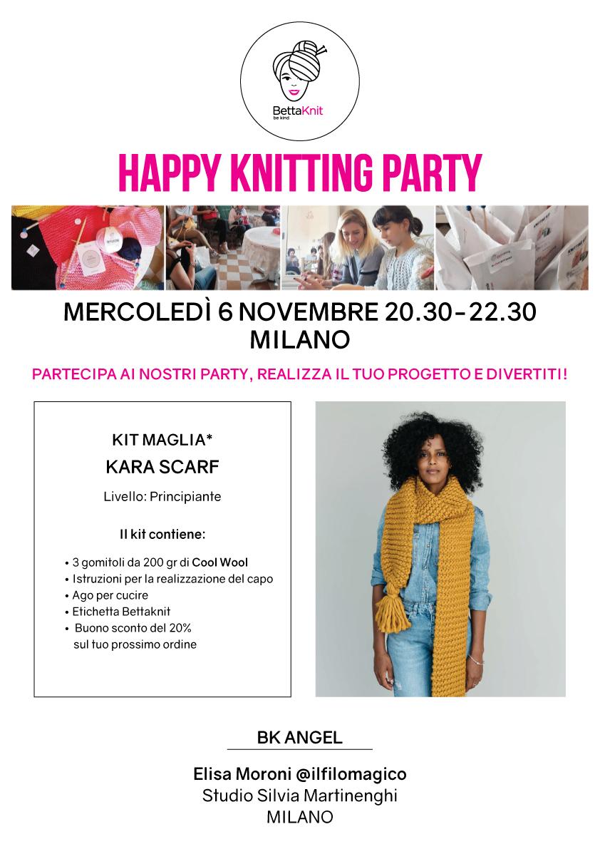 knitting party milano