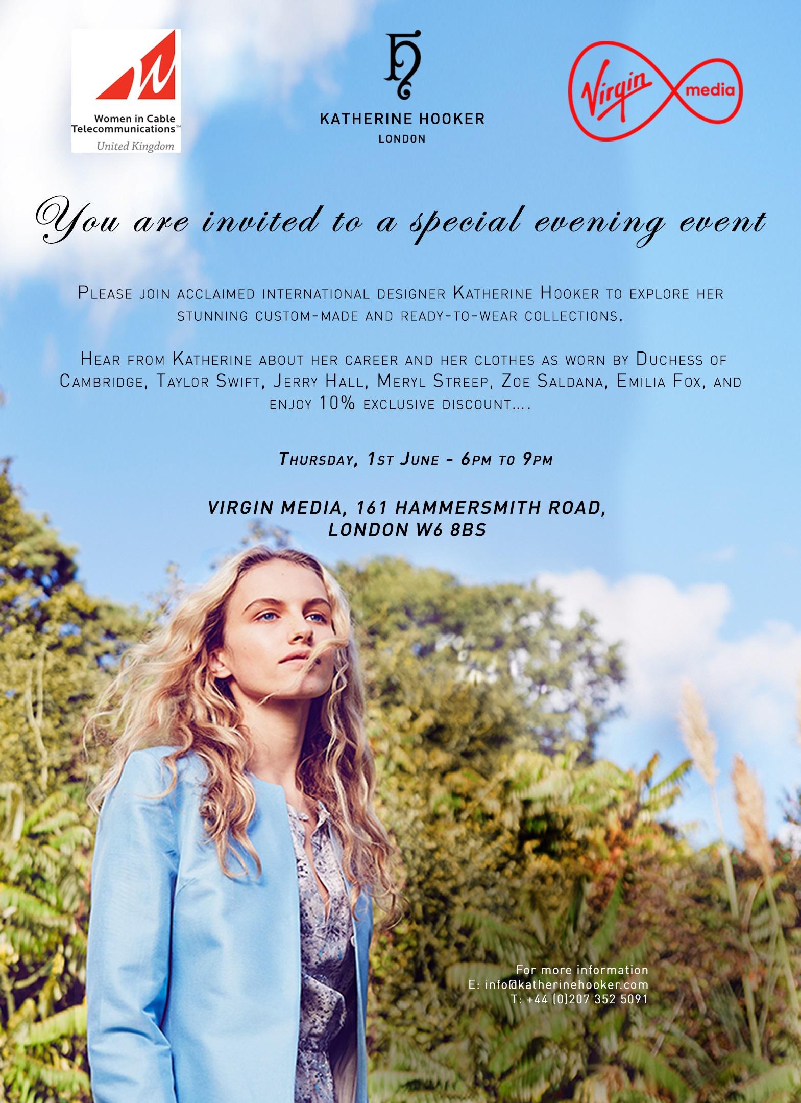 Event invite poster