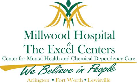 Millwood Hospital and Excel Center Logo