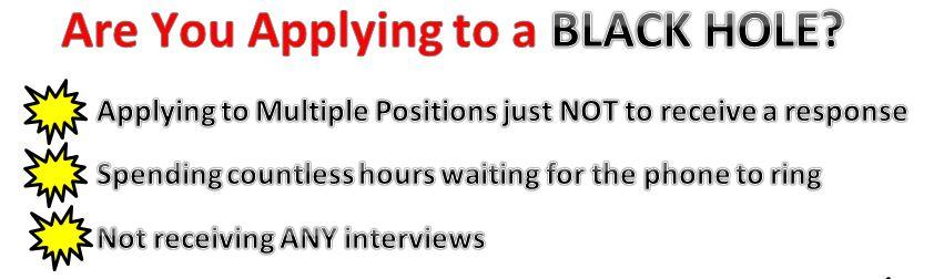 Applying to a Black Hole
