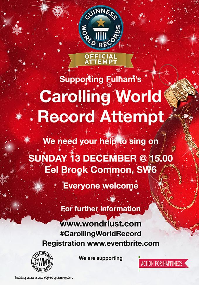 Carolling World record