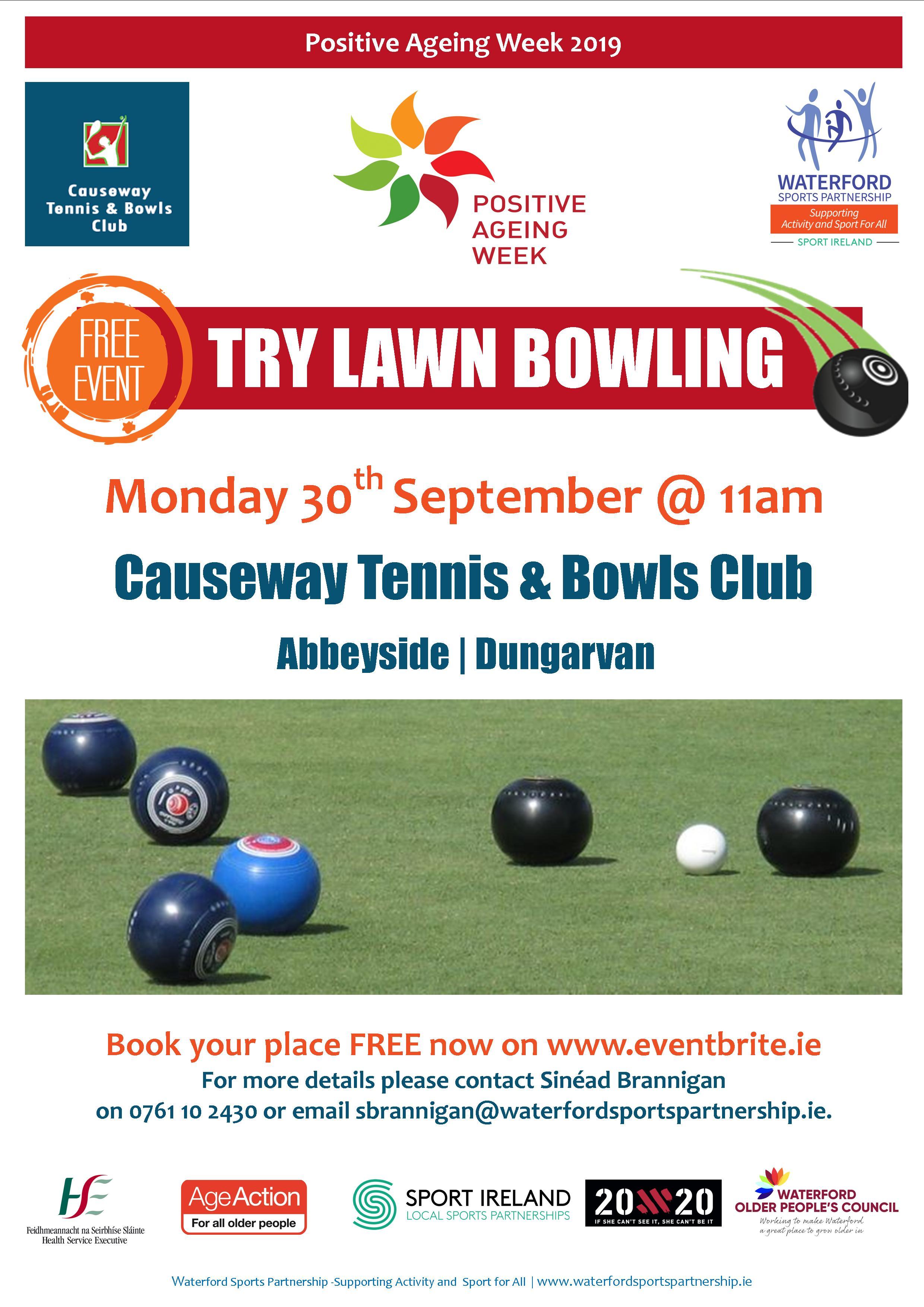 PAW lawn bowls