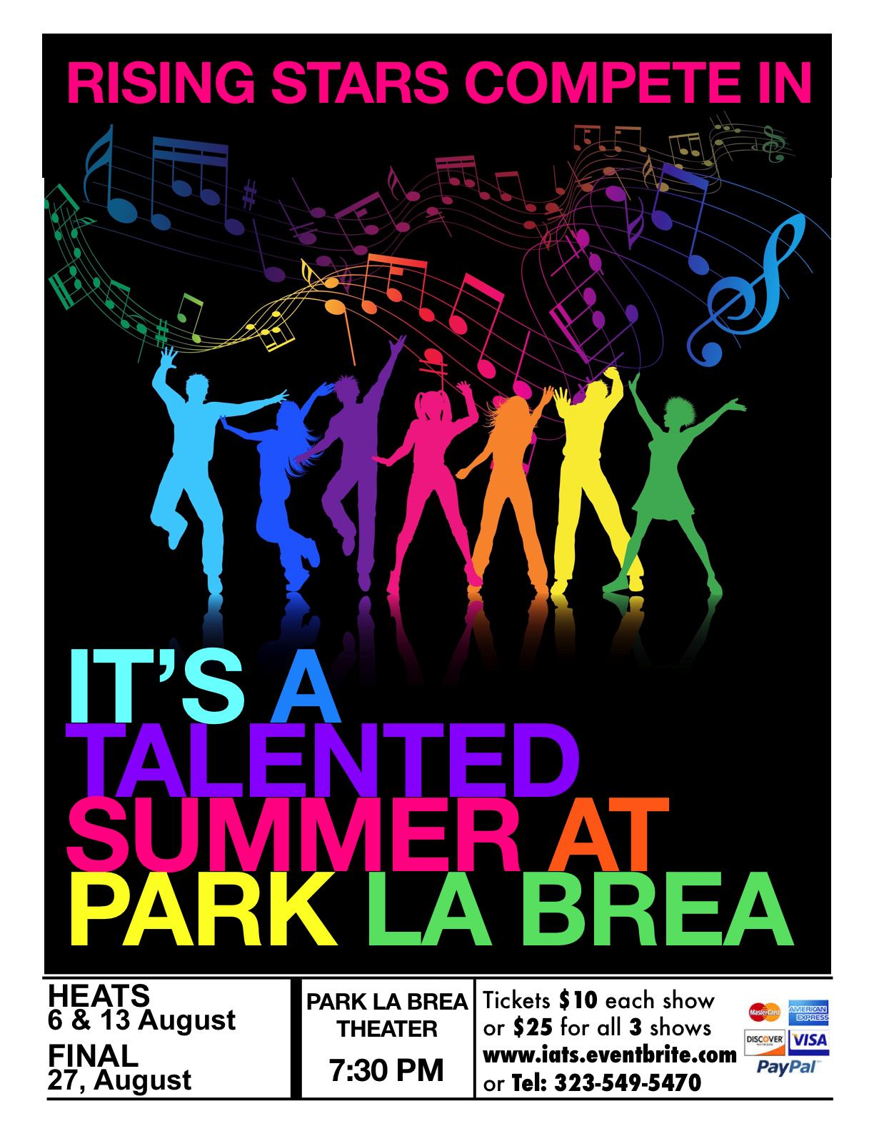 http://www.eventbrite.com/e/its-a-talented-summer-at-park-la-brea-2014-tickets-12335881955