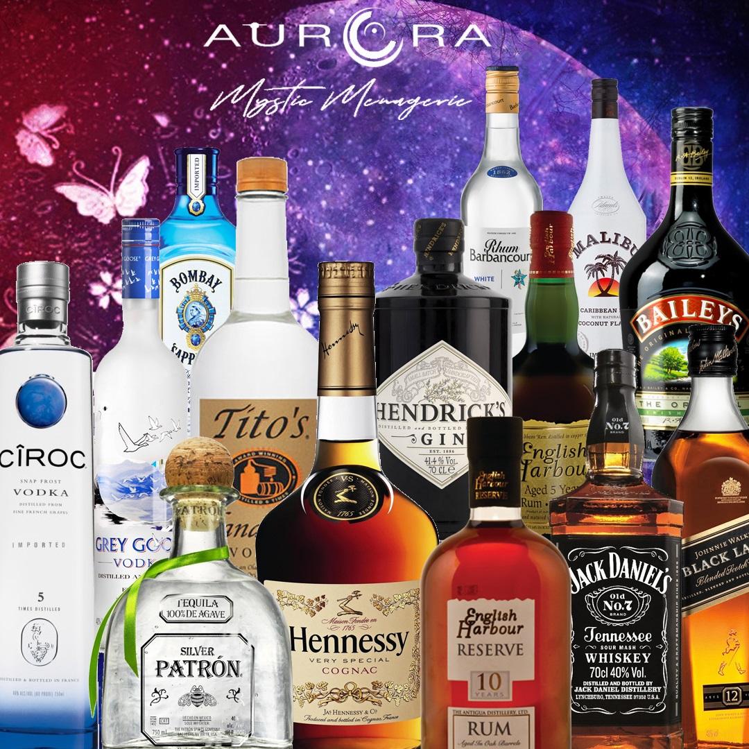 Liquor Selection