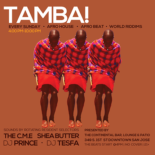 TAMBA! Every Sunday 4pm - 10pm