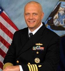 Navy Capt Mike Colston MD