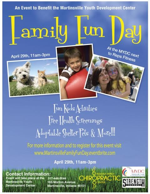 Martinsville Family Fun Day Flyer