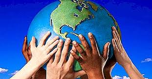 mains ethnies globe terrestre