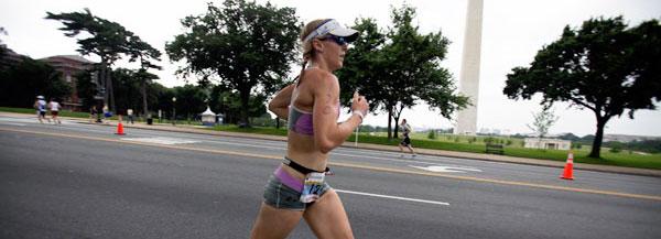 Krista Schultz at DC ITU Triathlon