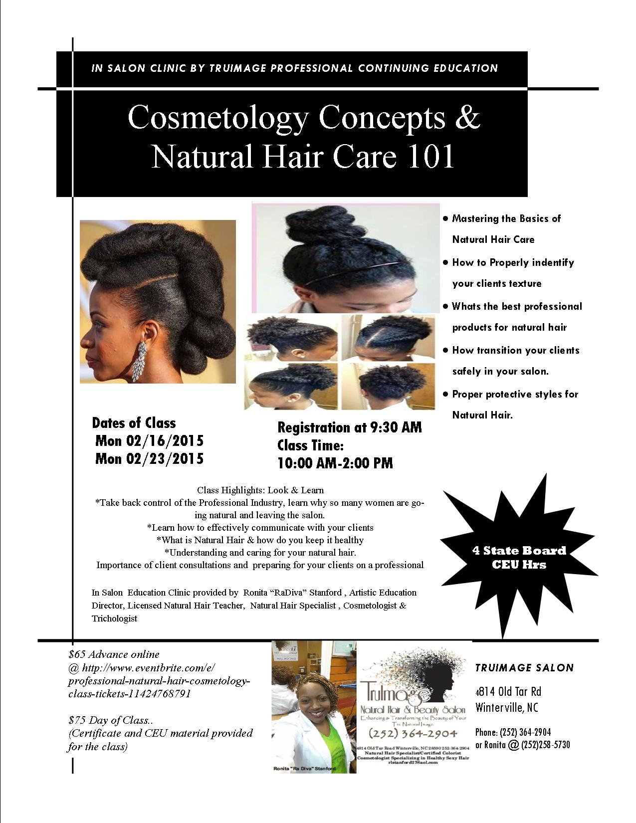 Natural Hair Care Classes Nc