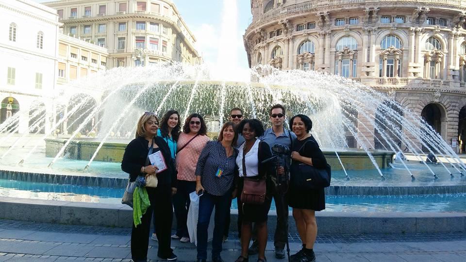 Delegation to Genoa