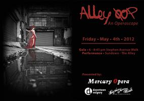 Alley Oop an operascape poster