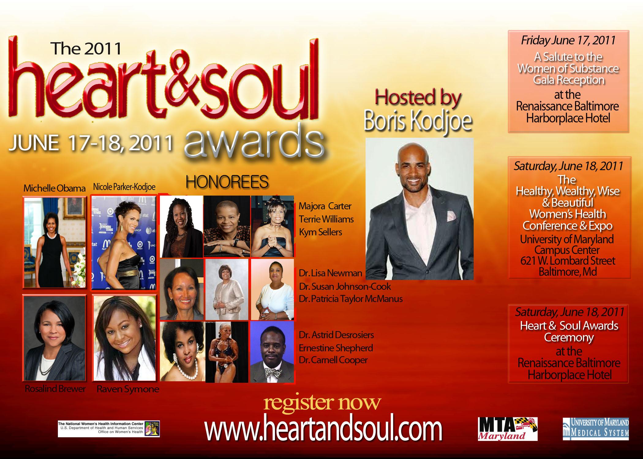Heart & Soul Awards Flier