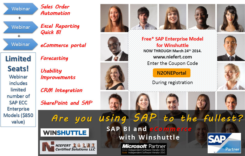 SAP BI eCommerce Winshuttle NIEFERT
