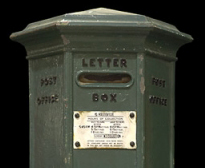 Channel Island Pillar Box