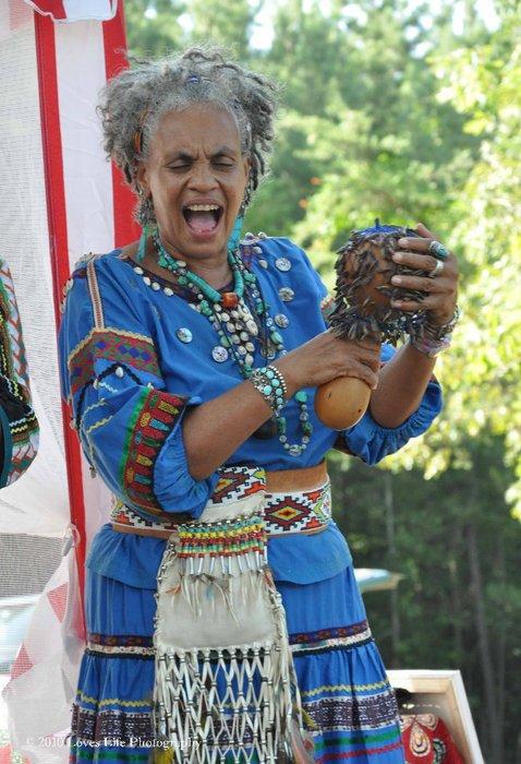 Mama Nataska Hummingbird Spiritual Women and Singer Choctaw