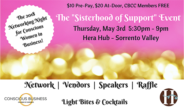 Conscious Business Chamber of Commerce 2018 Networking Night for Women