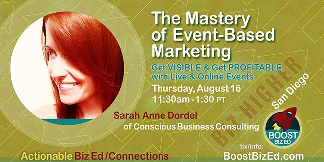 Sarah Anne Dordel Event Marketing Mastery