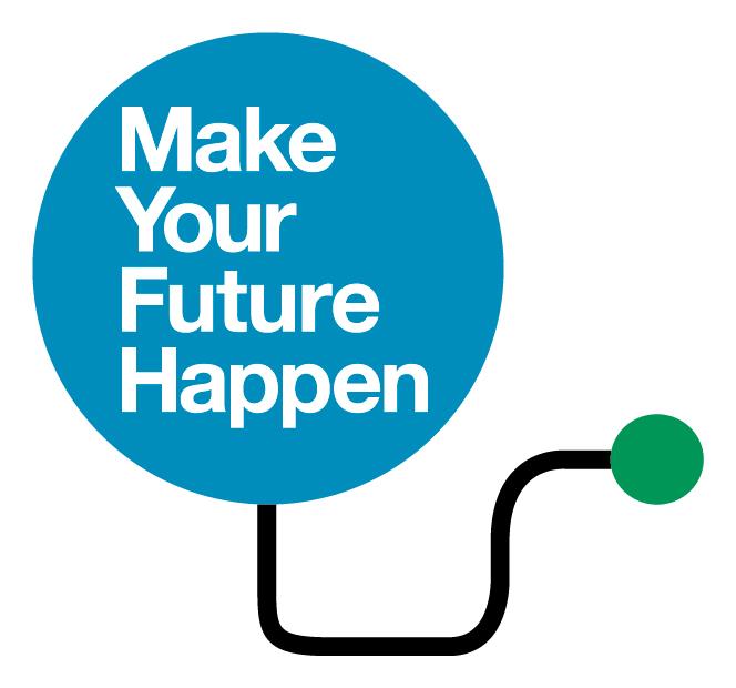 Make your future happen logo