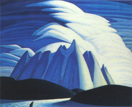 painting by Lawren Harris