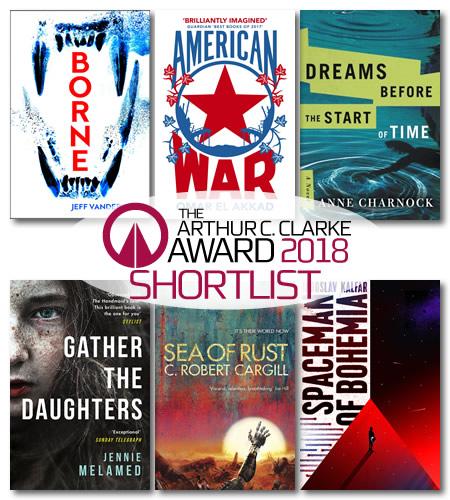 Arthur C. Clarke Award shortlist 2018