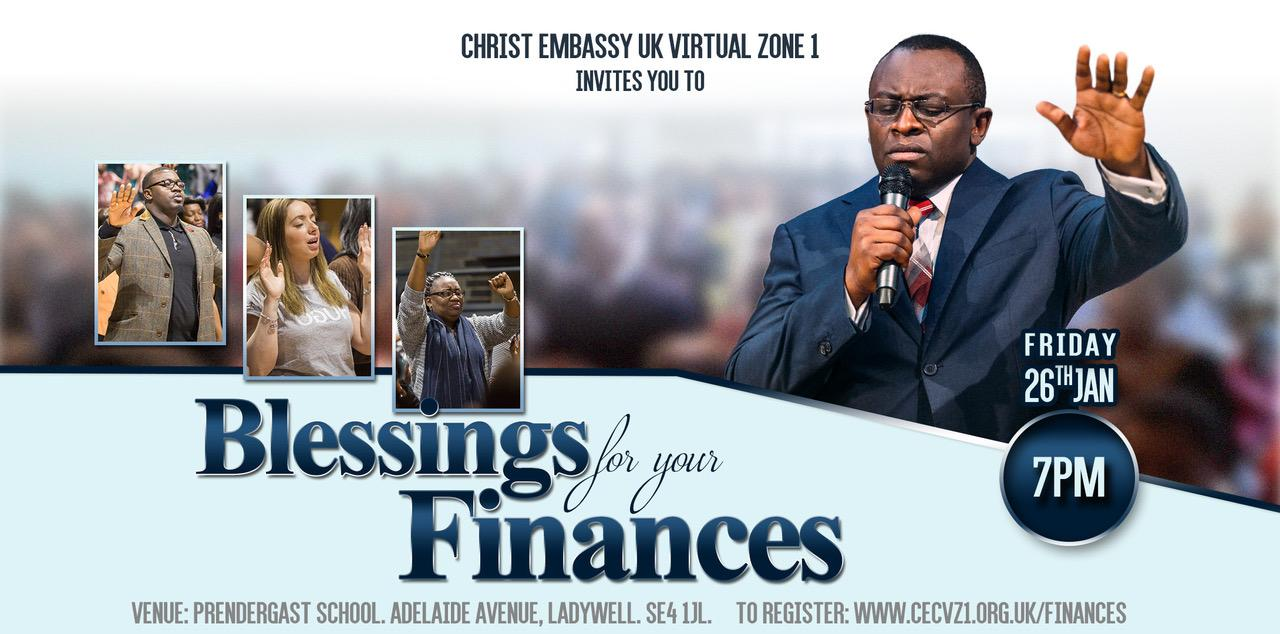 Blessings for Your Finances