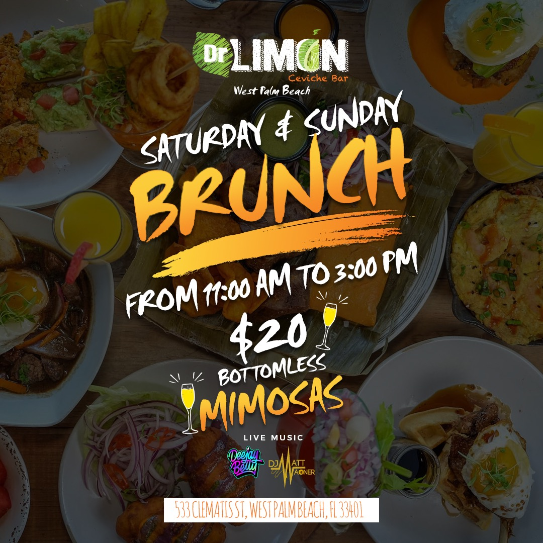 $20 bottomless mimosas and $25 flavored mimosas