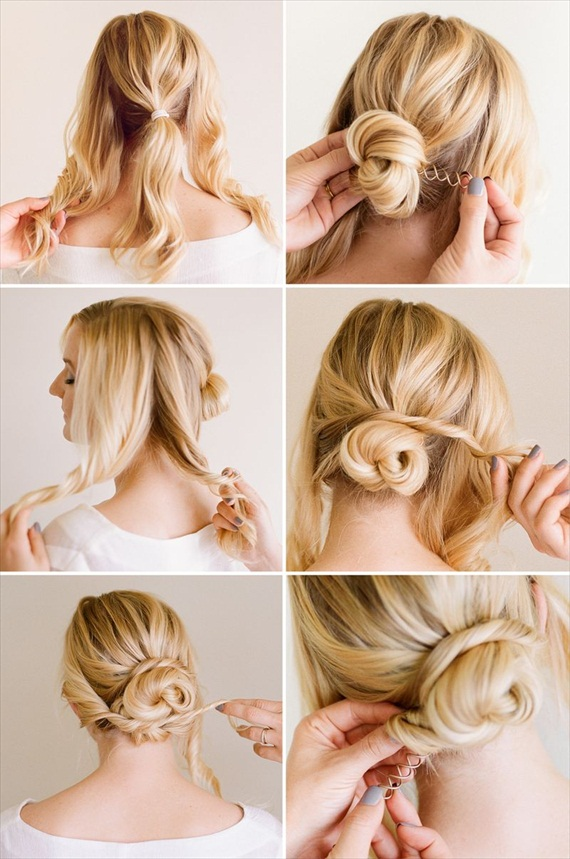 DIY Bridal Hair