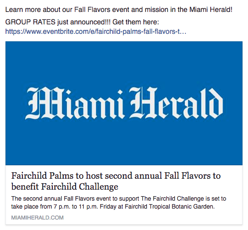 Miami Herald - Fairchild Palms