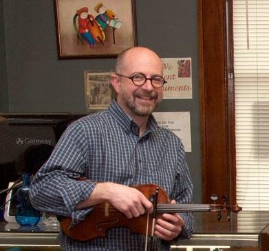 Glen Alexander of the Violin Shoppe