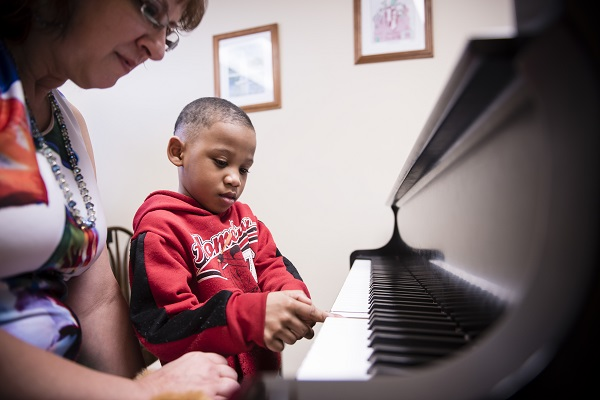 Piano lessons are available for all ages/levels