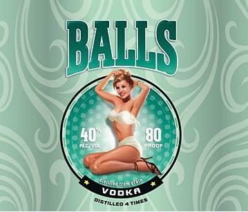 Balls vodka