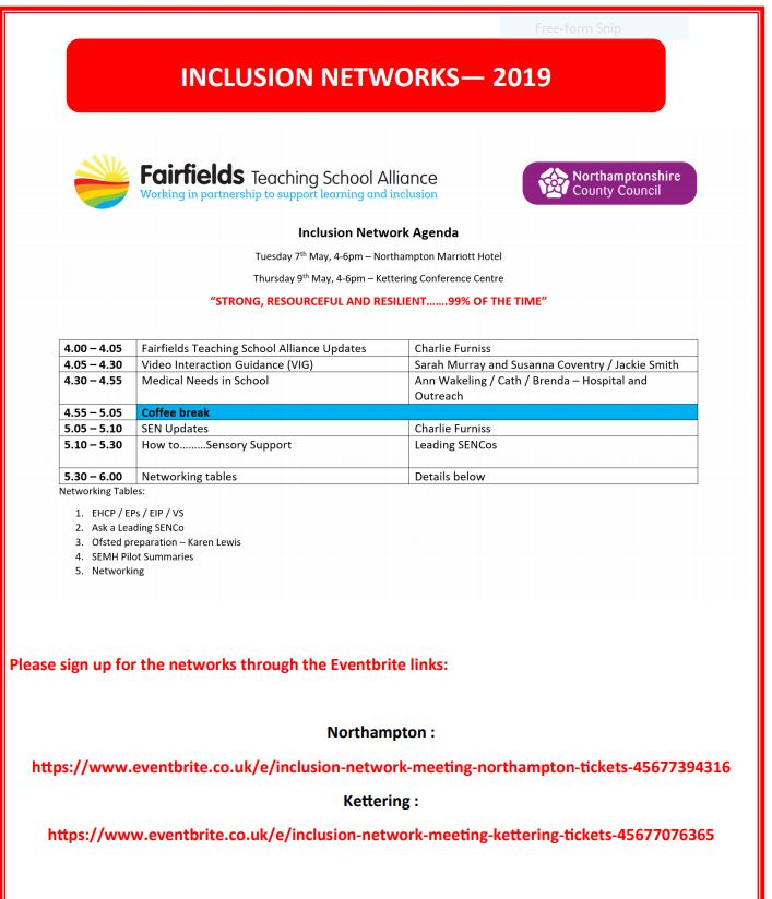 inclusion network may