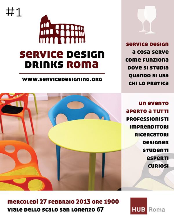 Service Design Drink Roma#1